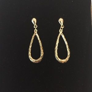 Jewelry - Pair of 14 KT Yellow Gold Post Earrings